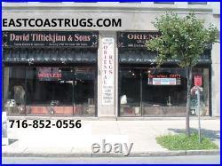 9x12 Chinese Rug Vintage Art Deco Peking Dragon 100% Wool Oriental Rug Fine