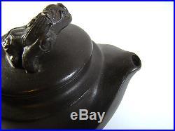Alte chinesische Yixing Teekanne Drache antique vintage chinese dragon tea pot
