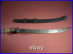 Antique 19th Century Chinese Dao Sabre with Dragon Motif