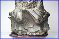 Antique Chinese Ming Dynasty 16th Century Bronze Xuanwu God dragon designs