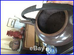 Antique chinese teapot yixing 19 th c. Dragon Marked. RARE