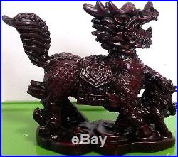 Chi Lin Chinese Dragon Horse Figurines Guardian Dragon Horse Statues US Seller