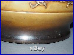 Chinese Antique Incense Burner, Bronze Dragon And Phoenix Censer
