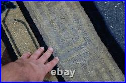 Circa 1910s ANTIQUE FIVE CLAWED CHINESE BEIJING DRAGON RUG 8.9x11.5 ROOM SIZE