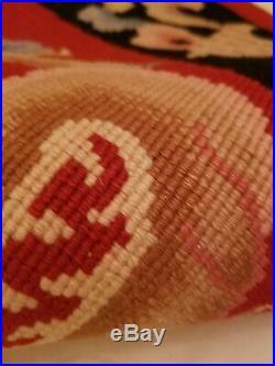 MCM ART DECO RED CHINESE round RUG 64 Dragon DESIGN SOFT WOOL fringe