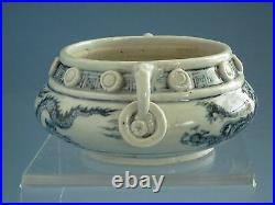 Ming Dynasty Blue and White Dragon Pattern Incense Burner