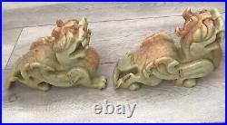 Natural Jade Dragon Pixiu Statue Pair Length 8x6 Inchs, 11pounds bring LUCK