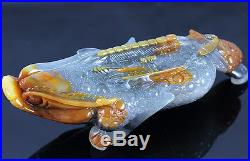 Precious jade Hand Carved Golden cicada Great wealth Worthy collection Sculpture