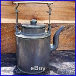 Rare Antique Chinese Yixing Teapot with filter Pottery Porcelain Pot Marked