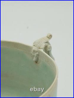 Song Dynasty HuTian Yao Carved Dragon Cup